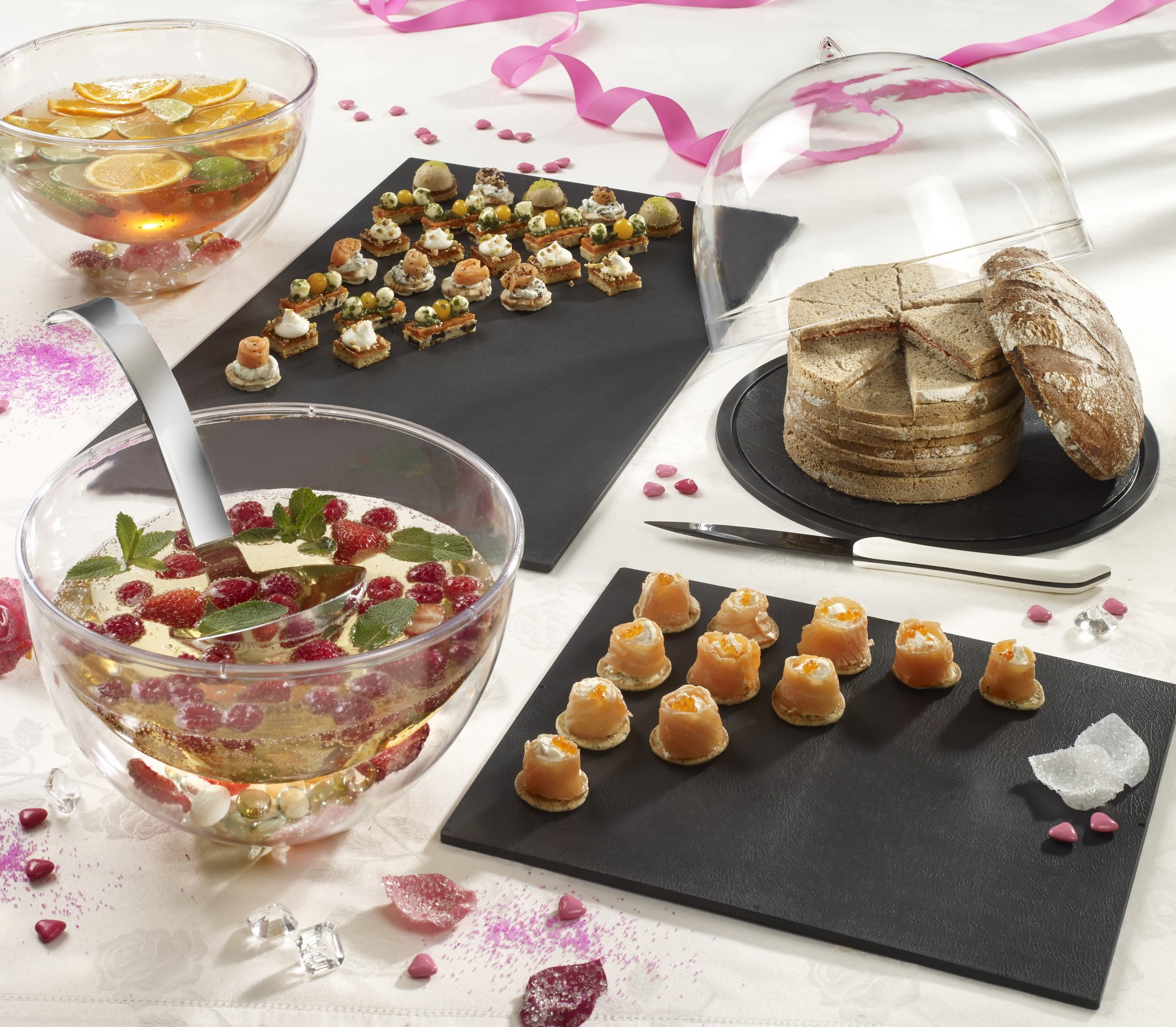 Emballages alimentaires buffet