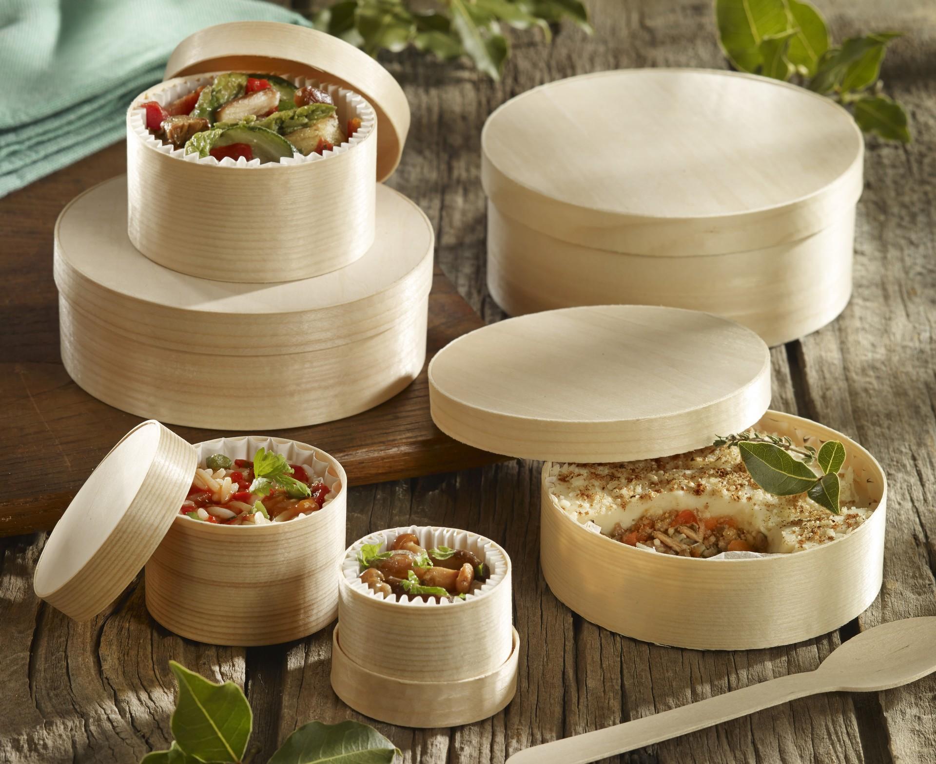 Emballages alimentaires restauration naturel