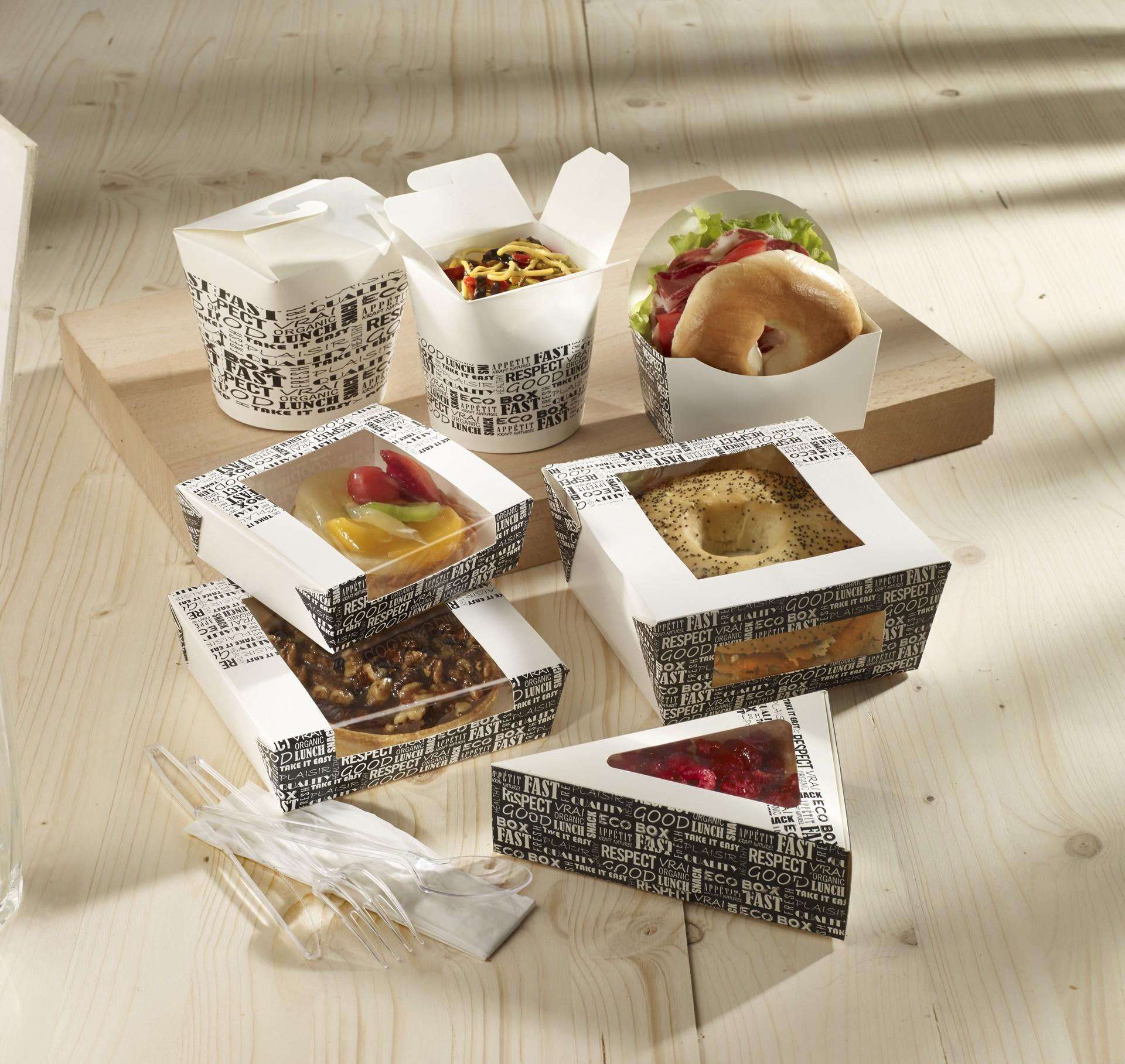 Emballages restauration rapide